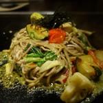 京ちゃばな - (2017/1月)アボカド黒焼きそば 野菜ミックス