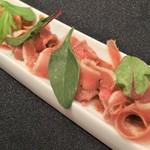 62398412 - フランス産鴨胸肉の生ハム