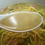 鳳春軒 - あっさりなのに深みのあるスープ