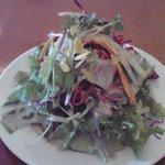 リゾットランチのサラダ