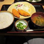 川辺 - 白身魚フライ定食