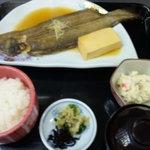 しげちゃん - くつぞこの煮魚定食(1260円)有明海の魚です!