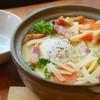 五十八 - 料理写真:カルボナーラが鍋焼きで新登場