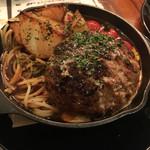 肉ビストロ モニ - 山形牛ハンバーグ