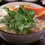 台湾佐記麺線&台湾バル888 - ・麺線(小) 300円 香菜増ししてもらった