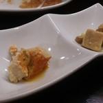 台湾佐記麺線&台湾バル888 - ・紅白豆腐よう 300円