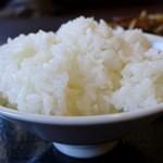 龍のしょく堂 - 白飯