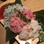 62405556 - こぼれ寿司ハーフ