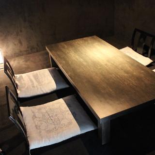 会食やプライベートなご利用にオススメ◎ゆったり寛げる個室