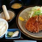 とんかつ芳松 - 四万十とんかつ定食(150g)1780円