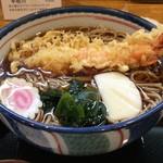 甚六 - 天ぷら蕎麦 1,000円