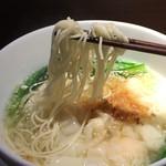 62414053 - 「選べるランチセット」烏龍茶風味小籠包+ワンタン麺(1,200円)