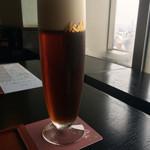 62414072 - 飲食店限定の「琥珀の時間」。デュンケルタイプのビールです。