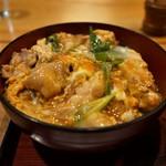 司津屋 - 親子丼(850円)