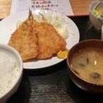 62417126 - 鯵フライ定食 880円