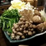 62419882 - ブリしゃぶ野菜