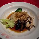 中国料理 桃花樓 - 鰆の蒸し物 柚子の香り