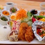 マテリア - 料理写真:1日10食限定マテリアプレートランチ
