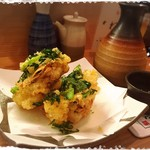 ろばた 旬菜 ねぶ家 - 季節のかき揚げ