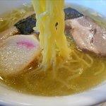 チャイナドール - 塩ラーメンの麺
