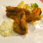 レストラン クレール - Aランチ(1730円)白身魚のフライ