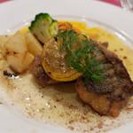 レストラン クレール - Aランチ(1730円)白身魚のムニエル