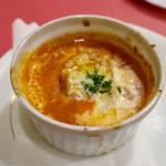 レストラン クレール - ランチのスープ