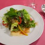 レストラン クレール - ランチのサラダ
