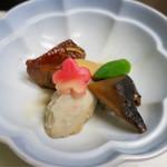 和食処 こばやし - 焚き合せ(金目鯛と野菜)