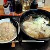 丸福 - 料理写真:ワンタンメンとチャーハン 小