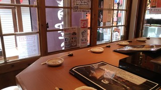 築地男前鮓 国際通り屋台村 - 店内