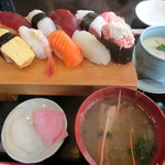 幸寿司 - ランチの握り