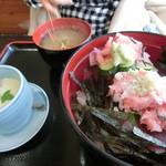 幸寿司 - マグロ丼