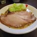 麺人佐藤 - 鯛アラだし醤油らー麺