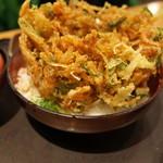 沼津魚がし鮨 - 桜海老かき揚げ丼