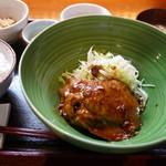 かんてら - 豚ロース生姜焼き 1200円。
