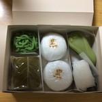 ときわ木 - 初体験の桜餅
