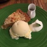 GRANNY SMITH APPLE PIE & COFFEE - グラニースミスアップルパイ 650円+Tax