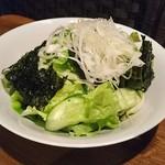 62439133 - 韓国のりのサラダ(正式名称はわすれました)