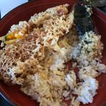 松福 - 不思議な天ぷらです。