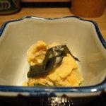 あぶり家 黒枝 - 先付け① 高野豆腐