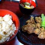 若とり - 骨抜き定食 ¥700