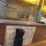 ラーメン SHIBA - 店内はカウンターのみでございます