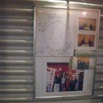 ラーメン SHIBA - 2004年にはシェイプアップガールズもご来店!?