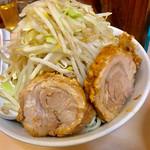自家製ラーメン大者 - 豚骨魚介つけ麵にも美味しいチャーシュー【料理】