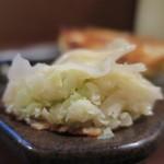 石松 - 石松餃子断面アップ