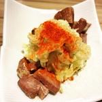 博多たんか - 角切り牛タンの燻製ポテトサラダ