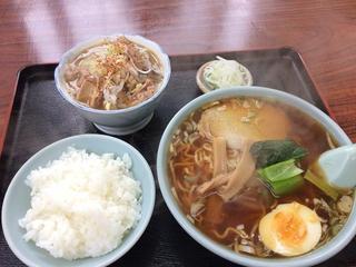 ラーメン永幸 - ラーメンBセット680円