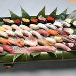 栄寿し - お寿司盛り合わせ