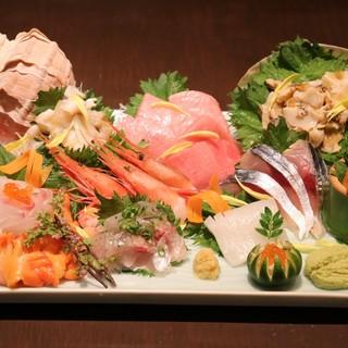 【美味しい料理と新鮮食材】毎日市場へ出向き鮮魚を直接目利き
